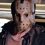 I ate pancakes at the Friday the 13th diner.