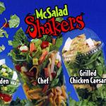 Recreating McDonald's McSalad Shakers.